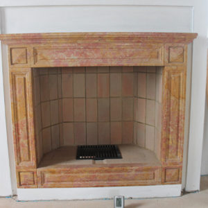 marble fireplace - Ref. 003