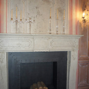 marble fireplace - Ref. 001