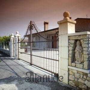 Pilastri in marmo Biancone - Rif. 042
